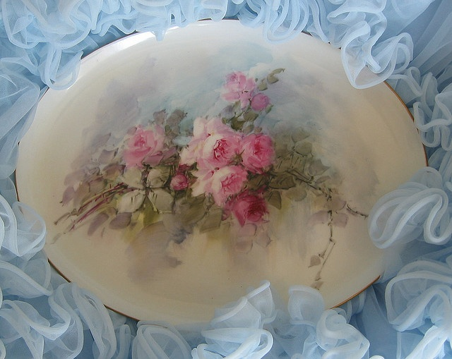 Antique Limoges tray.