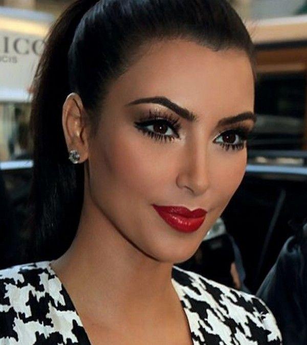 how to put on makeup like kim kardashian