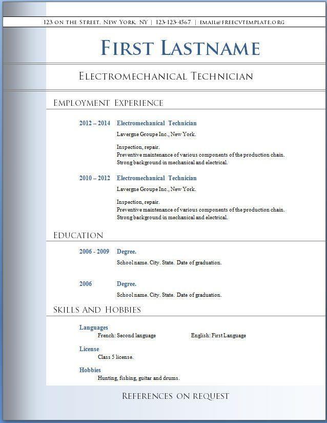 resume gurupad s hegde - Free Resume Templates In Word Format