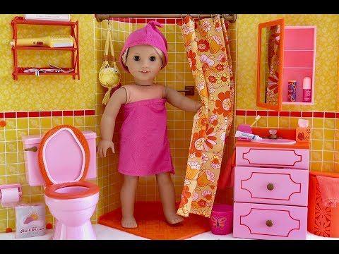 All My American Girl Doll Food! HD! - YouTube