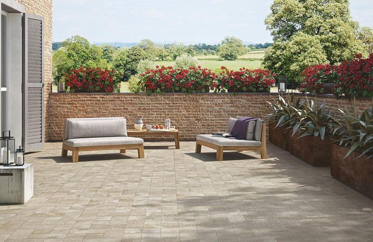 Stoneway Porfido Collection interior and exterior tiles in 6 colour combinations.  #stone #tiles #stoneway