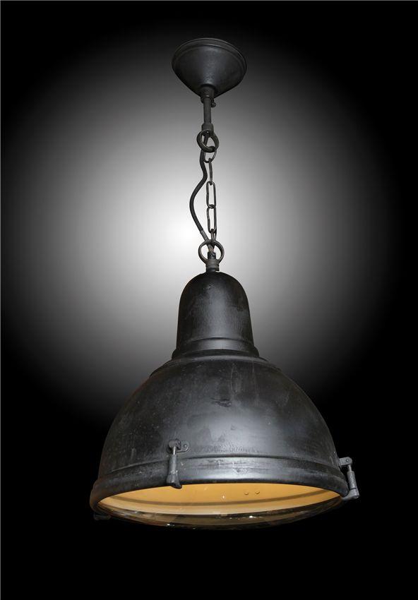 Albion Antique Hanging Lamp Black - DiaxH = 33x38cm, €198