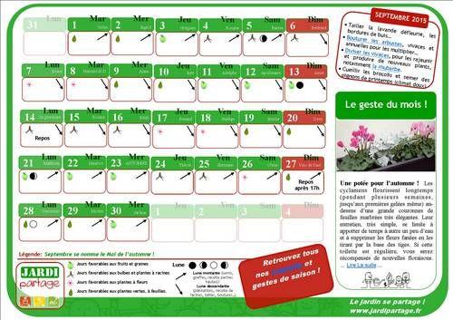 Calendrier du jardinage avec la lune en 2020 calendrier - Graines et jardin calendrier lunaire ...