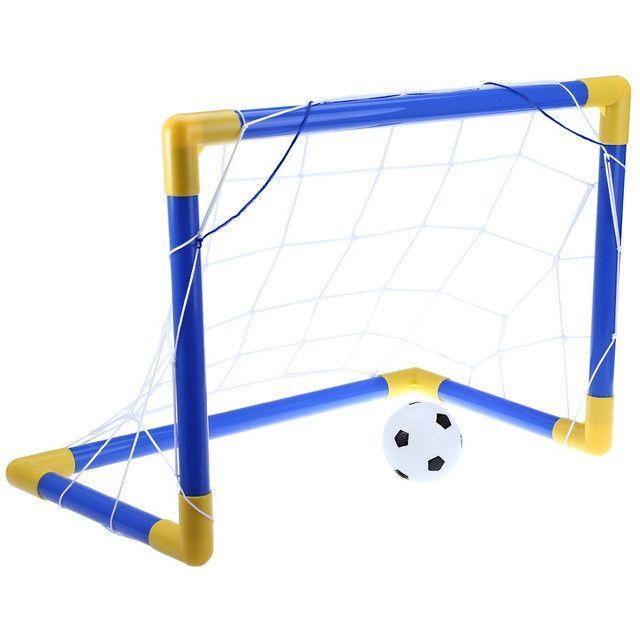 Fresh cm Portable Soccer Goal Post Net Utility Football Soccer Goal Post Net Ball