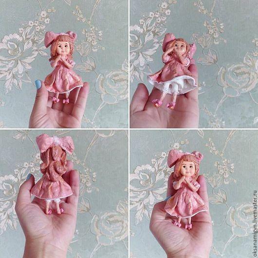 Коллекционные куклы ручной работы. Елочное украшение.Суок.Вата.. Brazevich dolls. Интернет-магазин Ярмарка Мастеров. Ватная игрушка