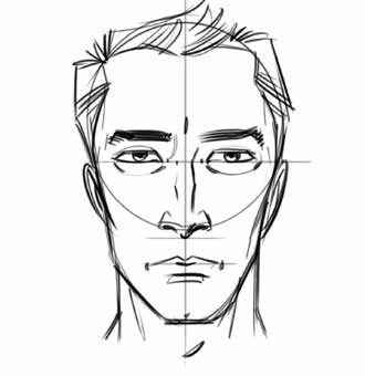 how to draw simple faces for comics