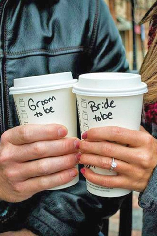 Best Ideas Of Engagement Announcements ❤ See more: http://www.weddingforward.com/engagement-announcements/ #weddings