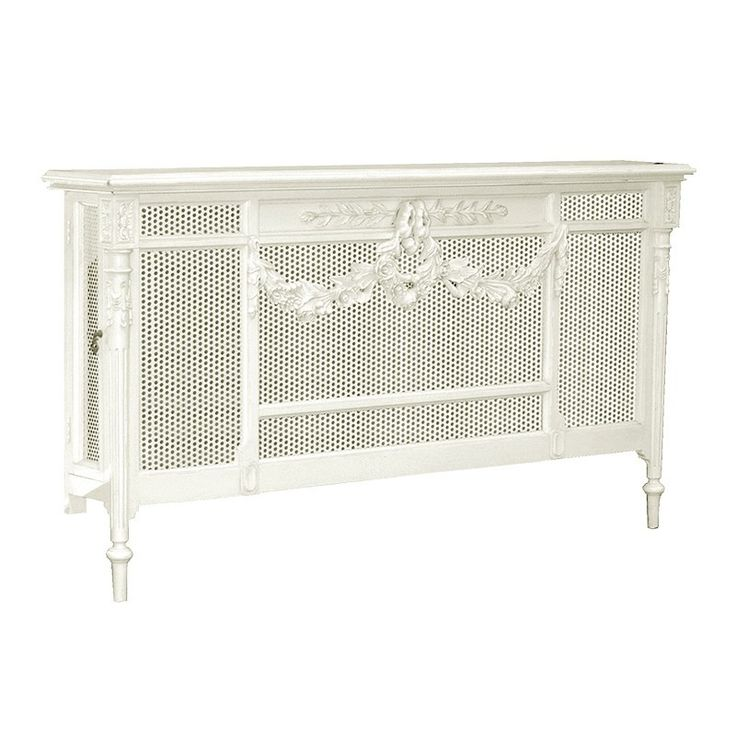 Chateau Antique White Radiator Cover