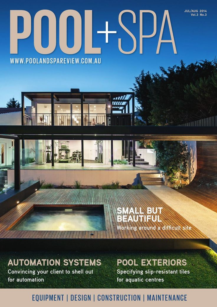 Pool+Spa Jul/Aug 2014  Published bimonthly, POOL+SPA (previously Pool and Spa Review) provides decision makers in Australia's swimming pool and spa industry with thought-provoking and informative content that is actionable in their day-to-day business.  Each issue contains in-depth features on topical issues; including heating systems, automation, filtration, water quality, lighting systems, cleaners and chemicals to name but a few. Of equal importance is editorial coverage dedicated to new…