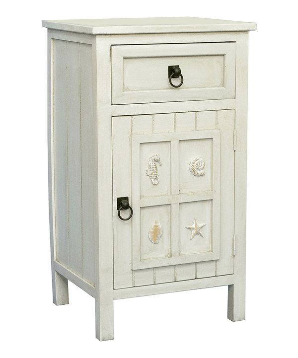 Best Look At This White Coastal Side Table On Zulily Today 400 x 300