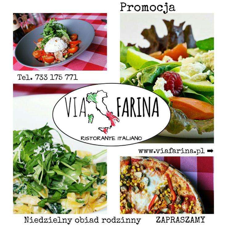 ★ RODZINNY OBIAD ★  ☛ 2 MAKARONY lub 2 SAŁATKI + 2 PIZZE NEAPOL = 69 ZŁ! ☚ Sprawdź ile oszczędzasz ☛ http://www.viafarina.pl/ ☛ ZAPRASZAMY ★  #restauracjawłoska #restauracja #restaurant #viafarina #niepołomice #niepolomice #i #okolice #kraków #krakow #wieliczka #weekend #pizza #italia #poland #menu #lunch #kolacja #kręgle #rodzina #pysznejedzenie #niedzelnyobiad #zaproszenie #tniemyceny #promocja #makaron #sałatka #oszczędności