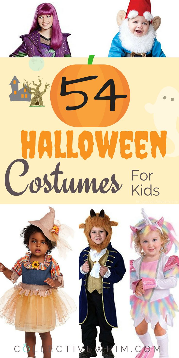 Get prepped for Halloween with one of these Halloween costumes for kids of all ages!