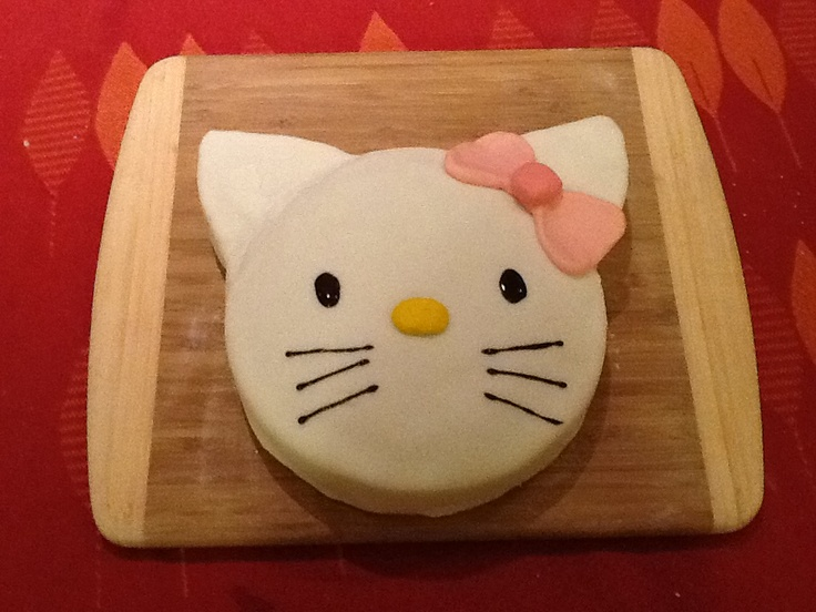 Hello Kitty cake (with rather large ears!)