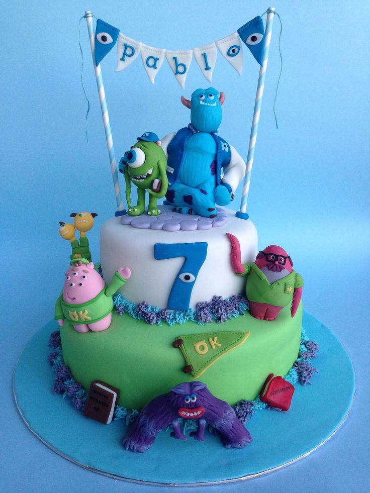 1000 Ideas About Monster University Cakes On Pinterest