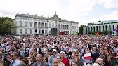 (2) WOW: President Donald Trump GIVES an AMAZING SPEECH at Three Seas Initiative Summit w/ Andrzej Duda - YouTube