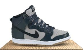 Nike Sb Dunk High Pro Anthracite/Matte Olive/Black