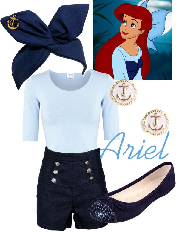 """Ariel - Kiss the Girl"" by disneywithalicia ❤ liked on Polyvore"