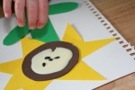 Integrating Shapes and Sensory into Art:  A Sunflower Craft: Ideas, Sunflowers Crafts, Sunflower Crafts, Integration Shape, Babysitting Projects, Crafts Stuff, Art Activities, Art Projects, Art Integration
