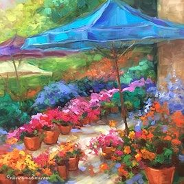 "Registration is now open for my new 6-week online class, Paint Brilliant Italy! Leave your passport at home and join me at <a href=""http://www.nancymedina.com/italy"">www.nancymedina.com/italy</a>"