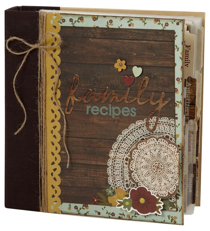 Legacy Family Recipe Sn@p! Binder - Scrapbook.com