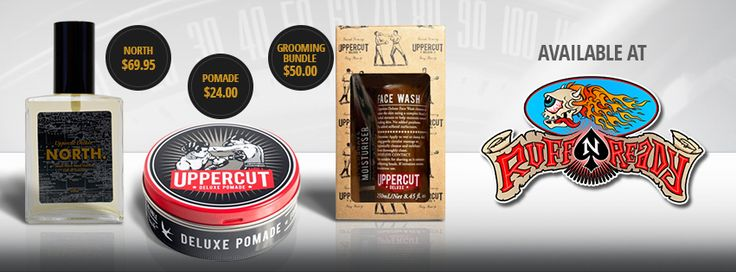 Awesome goodies by #UppercutBarberSupplies now available at www.ruffnready.com.au #pomade #cologne #grooming #rockabilly #greaser #pomp #RuffnReadyaus