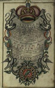 Skuodo klebonijos valdų inventorius. Fragmentai. Lenkų kalba. 1787-04-22. LVIA, f. 525, ap. 8, b. 527, l. 1 a, 1 b, 1 – 2.