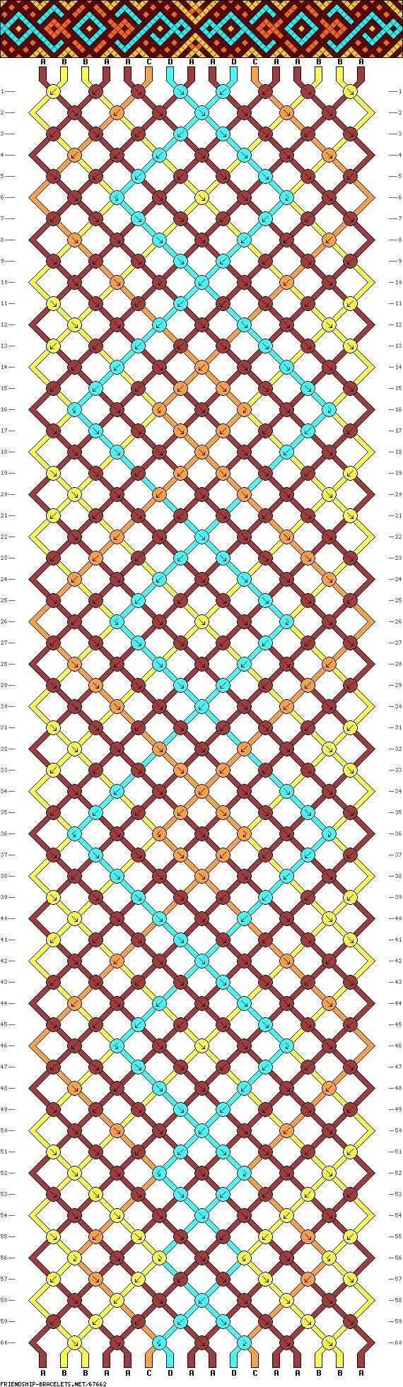 16 strings, 4 colors