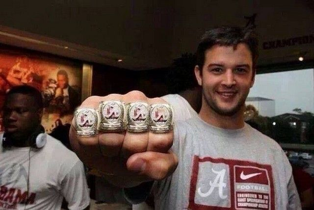 Show me another Heisman candidate with a picture like this.