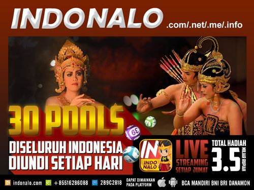 Bandar Togel Online Nalo : http://www.indonalo.net Agen Togel Online Indonesia Menghadirkan  Togel atau Pools 30 Kota Di Indonesia Pertama dan Satu-  Satunya di Indonesia DIUNDI SETIAP HARI http://goo.gl/qLSlS0  Main Live Streaming Setiap Hari Jumat,  Total Hadiah 3.5 Miliar Rupiah ( 1st @ Rp.1M , 2nd @  Rp.500Jt , 3rd @ Rp.250Jt ) http://goo.gl/qLSlS0  Semua Jadwal dan Hasil keluaran akan mengikuti Waktu  Indonesia Barat (WIB)  Diskon yang diberikan http://www.indonalo.net sangat berbeda…