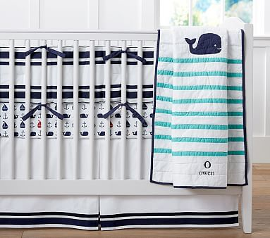 Hamptons Whale Nursery- Pottery Barn Kids