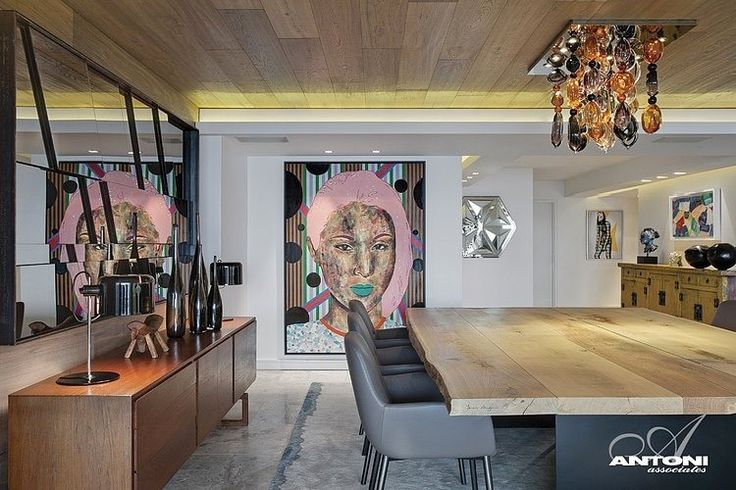 Pierre Cronje Dining Table top | Clifton View 7 by Antoni Associates