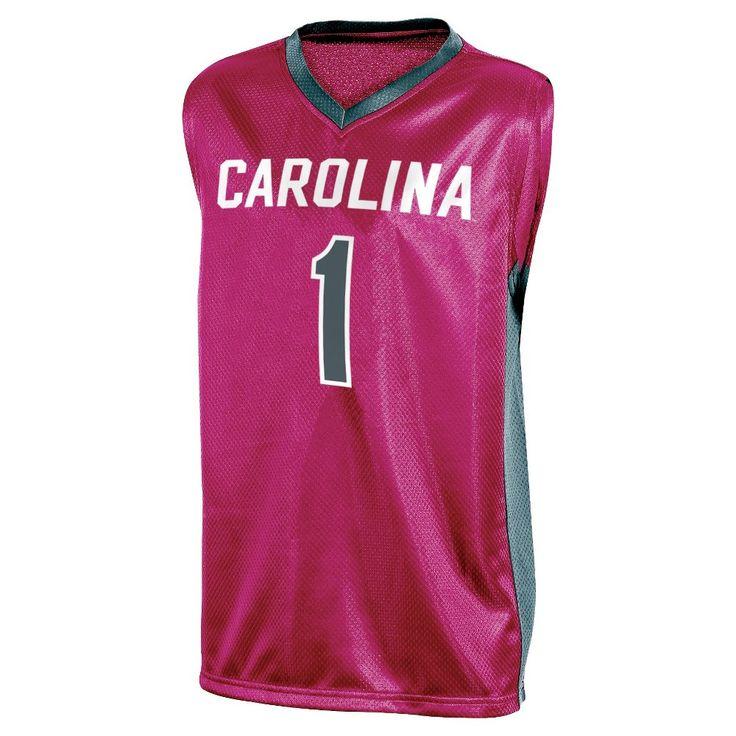 NCAA South Carolina Gamecocks Boys' V-Neck Replica Basketball Jersey - XS,