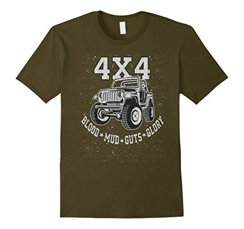 Mens 4X4 Blood Mud Guts & Glory Off Road Mud Truck T-Shir... https://www.amazon.com/dp/B074NHHBSP/ref=cm_sw_r_pi_dp_x_op1Izb2D22VDR #4x4 #4WD #offroad #offroader #dirttruck #mud truck #jeep #willys
