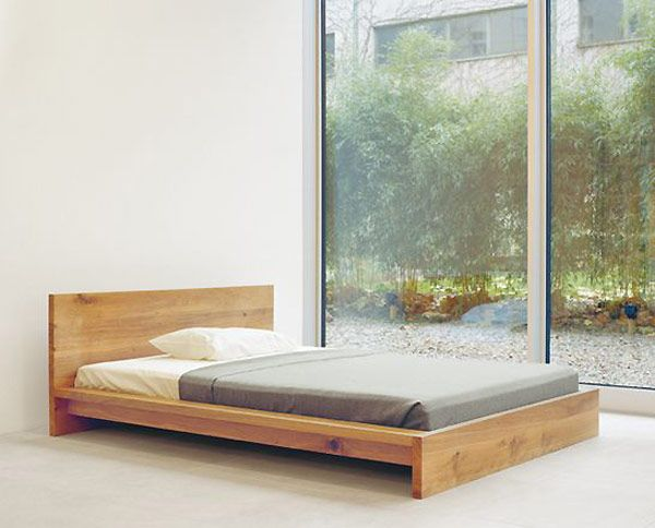 25 best ideas about modern bed designs on pinterest for Best minimalist bed frame