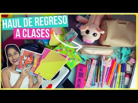 HAUL REGRESO A CLASES 2016 | Valeria de la Mora. - YouTube