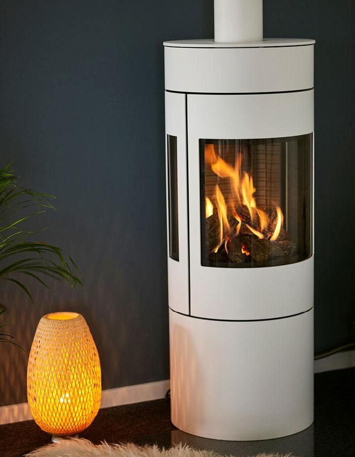 Attika Viva Gas L Freestanding Fireplace Free Standing Wood Stove Fireplace
