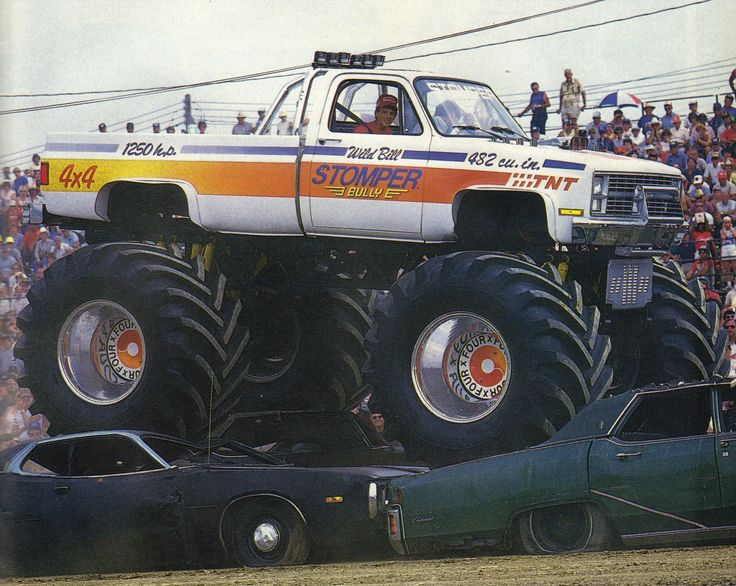 stomper bully monster truck
