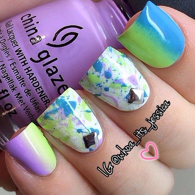Instagram photo by whoa_its_jessica #nail #nails #nailart