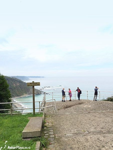 "Mirador de la Atalaya, or ""The Atalaya viewpoint"" in Muros de Nalon, Asturias, Spain. A place that let's you see from above 2 very well know beaches: La Cazonera and La Atalaya.   A place to be, to smell the sea and dream of flying...."