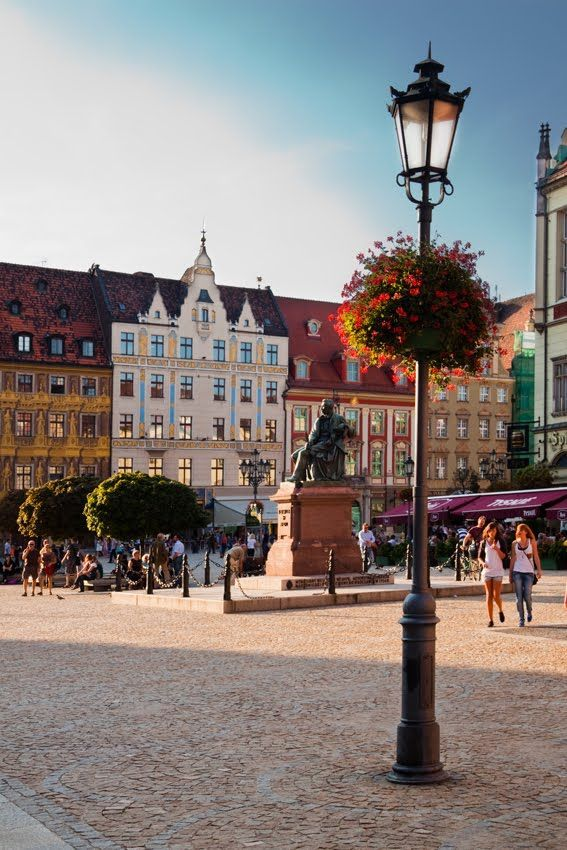 ♔ Wrocław--Beautiful. I've been wanting to go to Poland for a while.