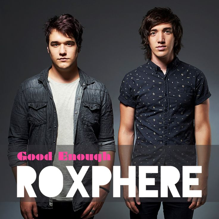 Today Roxphere, a twin brother-duo from Pretoria, releases their debut single, 'Good Enough' through David Gresham Records.