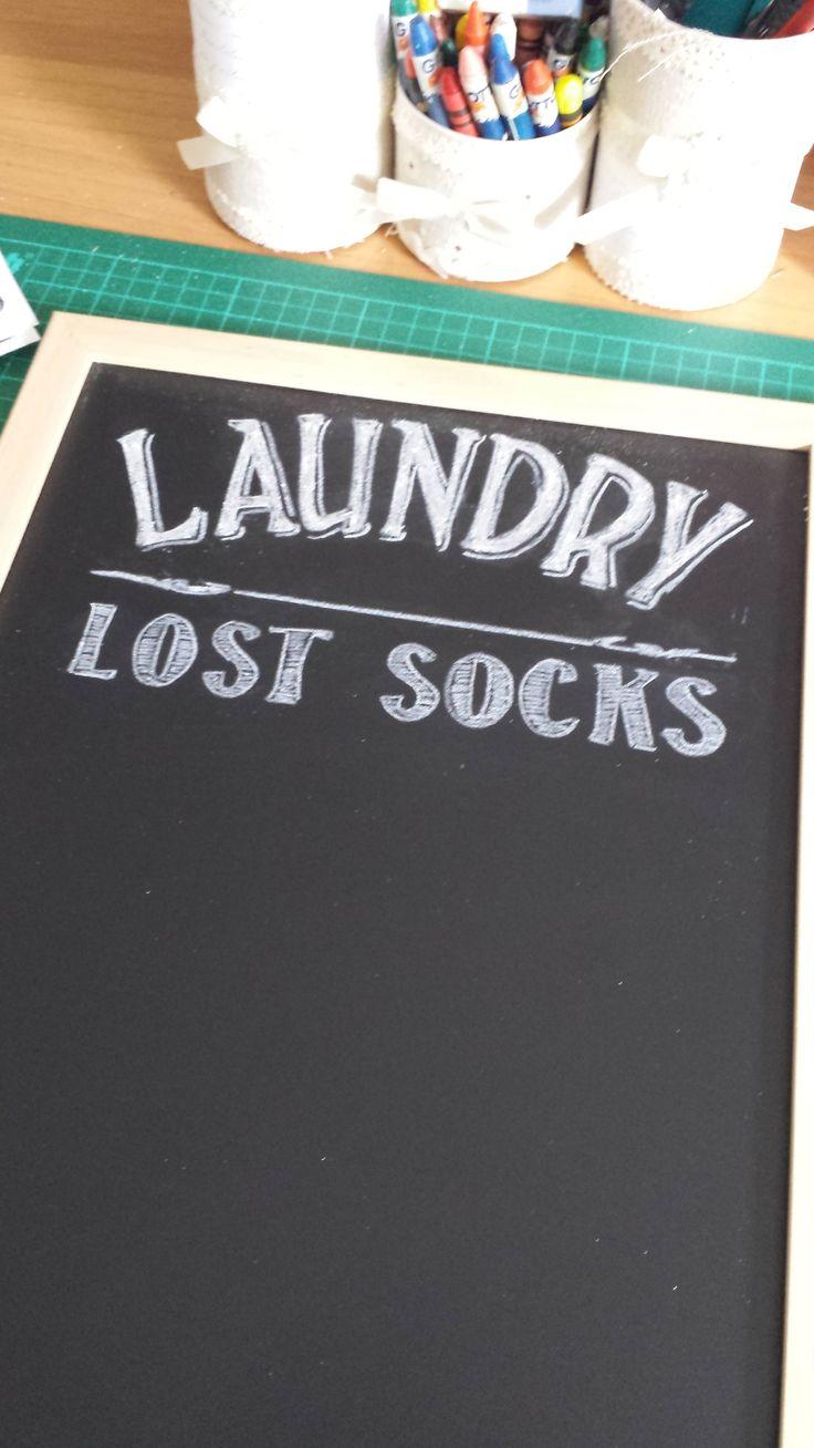 ~ Stef ~ — Lost socks board tutorial
