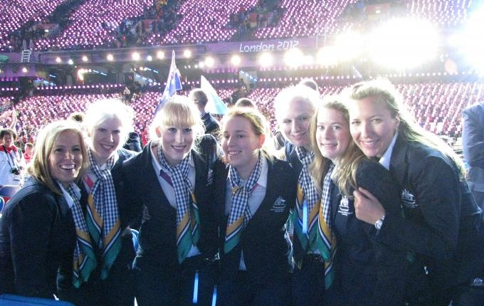 Goalball team inspired by warm welcome | London 2012 - Official Australian Paralympic Team Website