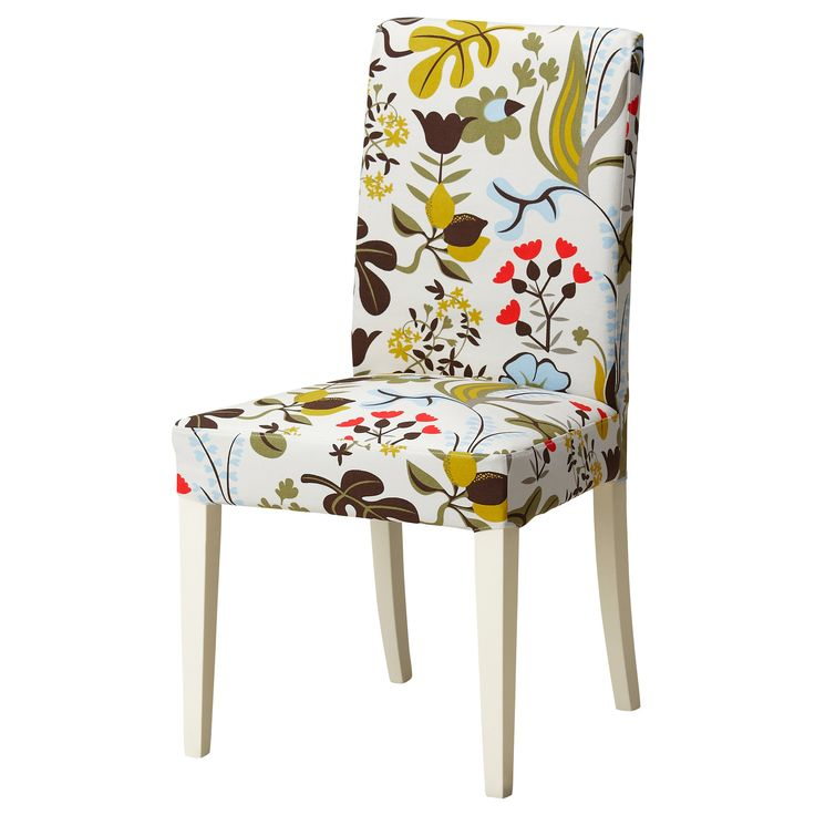 HENRIKSDAL Chaise - Blomstermåla multicolore - IKEA