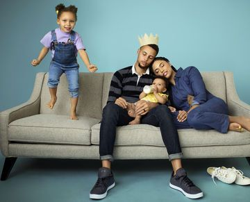 Exclusive: Stephen Curry and Wife Ayesha on Marriage, Kids and Their Matching Tattoos | Stephen Curry may dominate on a basketball court, but at home he and his wife, Ayesha, play man-to-man defense to keep up with their two active daughters.