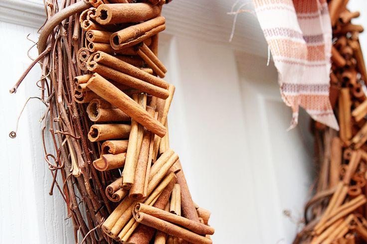 cinnamon stick wreath diy