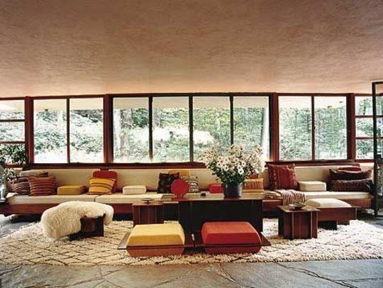 414 best chalet images on pinterest cottage chalet for Banquette salon design