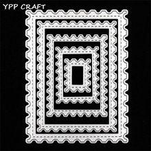 YPP CRAFT Sello de Correos Forma vacuna sizzix grande troqueles de metal troquelado muere PLANTILLAS herramientas SCRAPBOOKING carpeta de grabación en relieve(China (Mainland))
