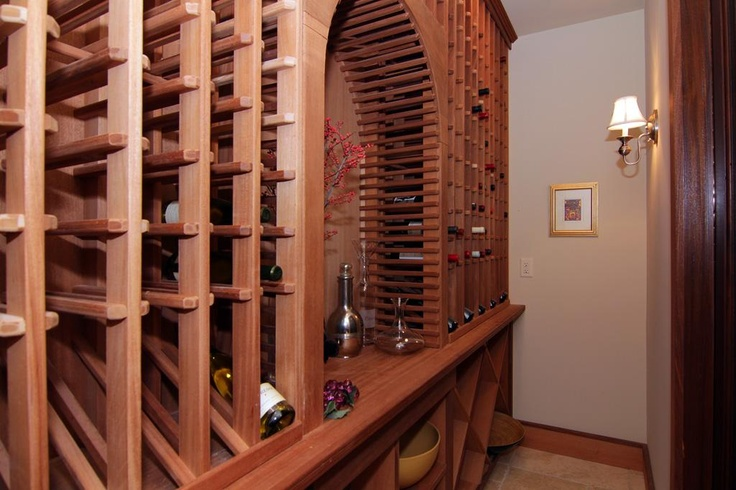 Unique Climate Controlled Wine Cabinet