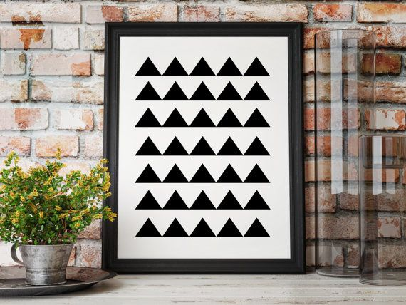 loft wall art modern printable poster wall art modern minimal art black white print modern art geometric decor large posters